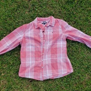 Tommy Hilfigher Long Sleeve Casual Button Down